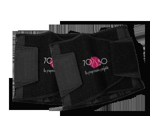 Cinturilla 70-30®,  paquete de 2 pzs