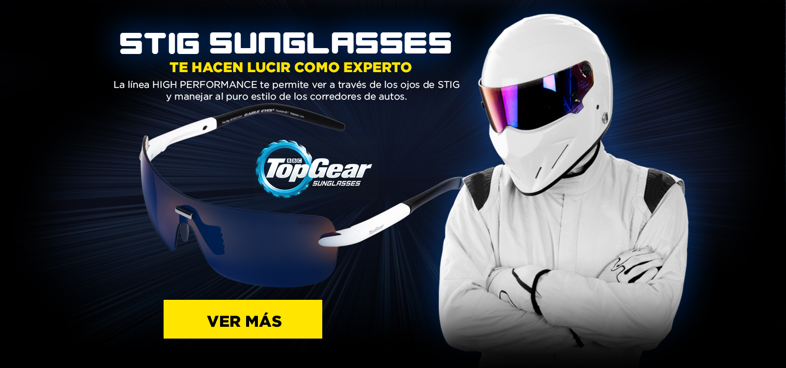 Eagle Eyes Stig para manejar
